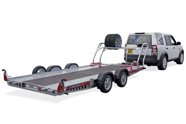 Free Tyre rack Brian James A4 Transporter