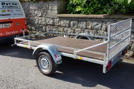 New lawnmower golf buggy trailer