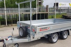 New Nugent 10 x 5 dropside trailer