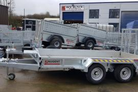 New Nugent 12 foot plant trailer