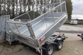 New Nugent 8x5 Tipping trailer