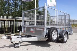 Ifor Williams GD85 Single axle 8x5 with mesh