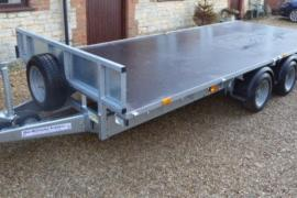 Ifor williams 16 foot flatbed