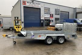 Ifor Williams GH126BT 12x6 plant Trailer