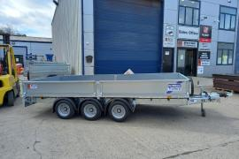 Ifor Williams lm146g3 14x6'6 dropside