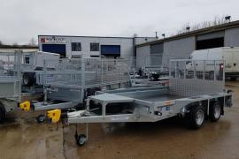 New ifor williams 10x6 plant trailer