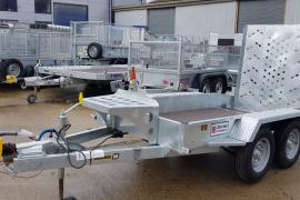 New indespension 9x4 plant trailer